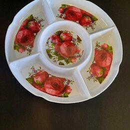 Тарелки - Тарелка для закусок , пластик 2шт, 0
