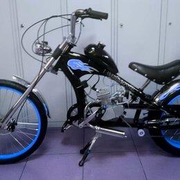Мототехника и электровелосипеды - Велосипед с мотором OK-32003 Chopper от поставщика, 0