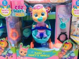 Куклы и пупсы - Пупс Cry babies в коляске , 0