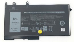 Блоки питания - Аккумулятор D4CMT к Dell Latitude 5280, 5480…, 0