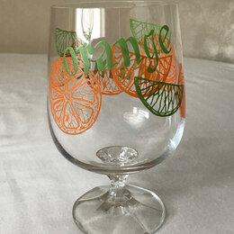 Бокалы и стаканы - Бокалы для напитков хрустальные Bohemia 6 штук, 0