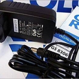 Кабели и разъемы - Блок питания (адаптер питания) Триколор 12В, 2А, 0
