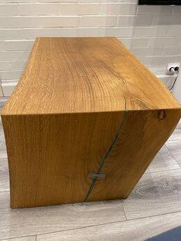 Столы и столики - Журнальный стол из слэба дуба, 0
