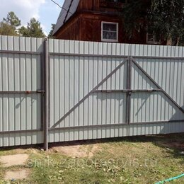 Заборы, ворота и элементы - Монтаж ворот/заборов, 0