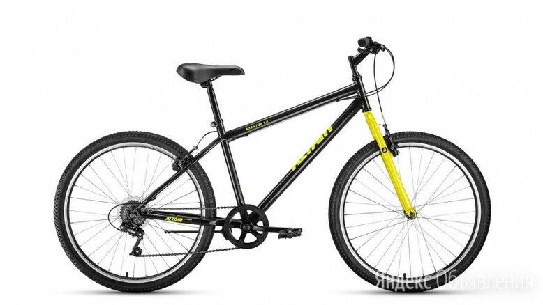 """Горный (MTB) велосипед MTB HT 26 1.0 черный/желтый 19"""" рама по цене 14472₽ - Велосипеды, фото 0"""