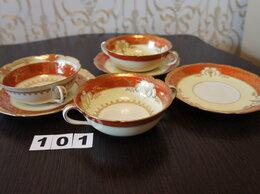Кружки, блюдца и пары - Бульонница с блюдцем.Фарфор noritake china japa, 0