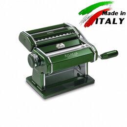 Пельменницы, машинки для пасты и равиоли - Marcato Design Atlas 150 Verde ручная машинка для раскатки теста с лапшерезкой, 0