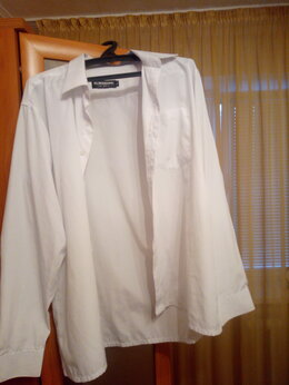 Рубашки - Продам рубашку с короткими рукавами. Белая в…, 0