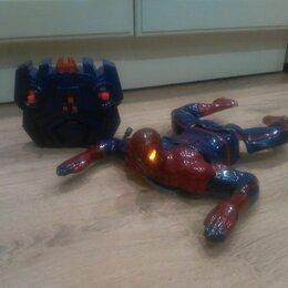 Радиоуправляемые игрушки - Spider man с ПДУ (ползающий по стенам / потолку), 0