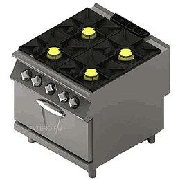 Промышленные плиты - Плита газовая MARENO NC9FG8G48, 0