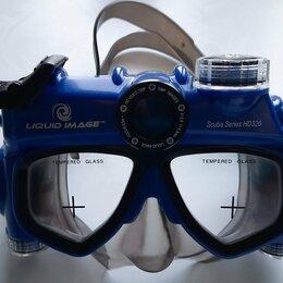 Маски и трубки - Маска для дайвинга с фото и видео Liquid Image, 0