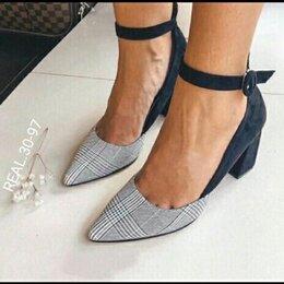 Туфли - Туфли новые. Текстиль и замша 36 р-р, 0