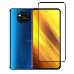 Защитные пленки и стекла - Защитное стекло Xiaomi POCO X3, 0