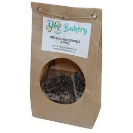 Лакомства  - Dog Bakery - Печенье для собак с лёгким верблюда и рисом, 0