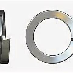 Шайбы и гайки - Шайба пружинная 65 Г ГОСТ 6402 М6-М48 гровер высокопрочная , 0