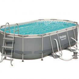 Бассейны - Каркасный бассейн Bestway 427*250*100 см арт 56620, 0