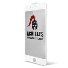 Защитные пленки и стекла - Защитное стекло для iPhone 7/8 Achilles 5D (White), 0