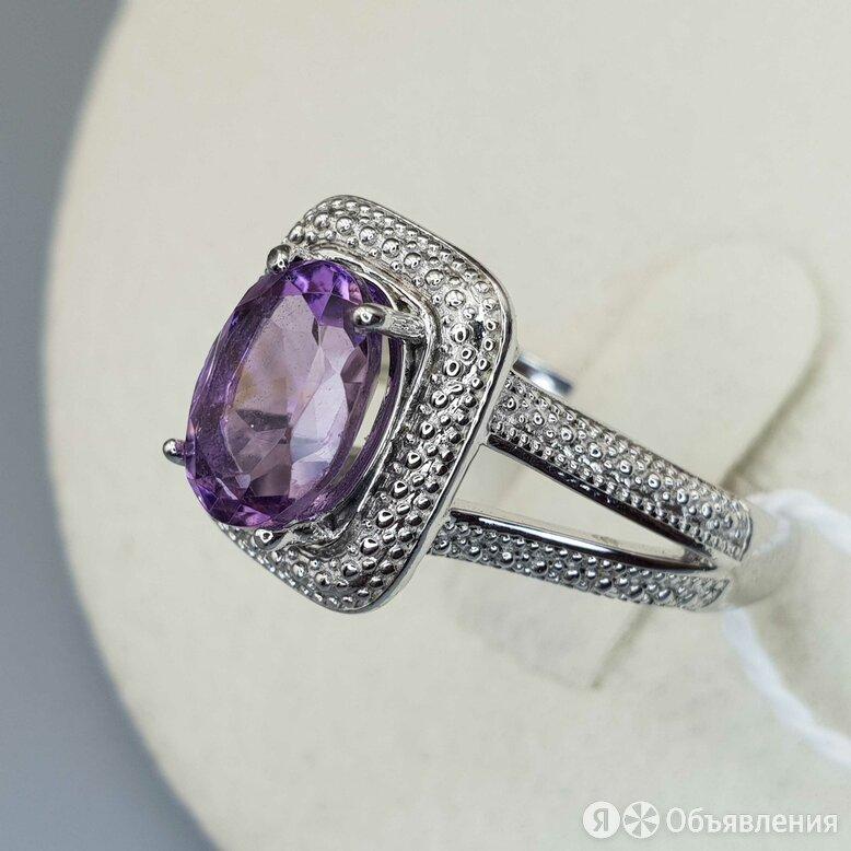 Серебряное кольцо с аметистом по цене 2900₽ - Кольца и перстни, фото 0