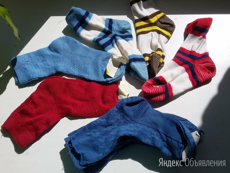 Детские носки хлопок новые по цене 50₽ - Носки, фото 0