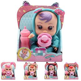 Куклы и пупсы - Cry Baby Маленький пупс с пустышкой и бутылочкой, 0