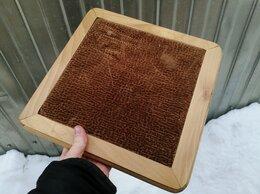 Стулья, табуретки - Седло стула, деревянное, с вставкой велюра, 0