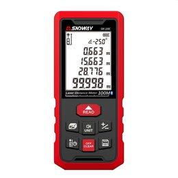 Измерительные инструменты и приборы - Профессиональный дальномер Bluetooth, угломер, 0