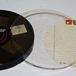 Музыкальные центры,  магнитофоны, магнитолы - катушка BASF 180 и кассеты , 0