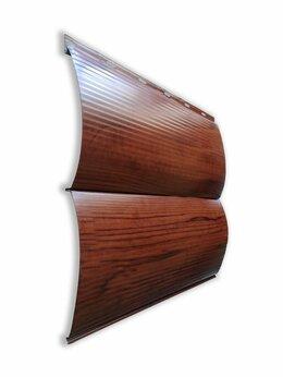 Фасадные панели - Сайдинг металлический Бревно 0,354 х 3 м красный…, 0