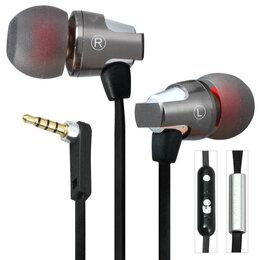 Наушники и Bluetooth-гарнитуры - Awei ES860Hi вакуумные наушники с микрофоном, 0