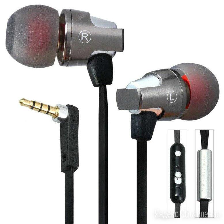 Awei ES860Hi вакуумные наушники с микрофоном по цене 600₽ - Наушники и Bluetooth-гарнитуры, фото 0