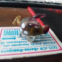Сувениры - свинка порося хрюка маша из стекла, 0