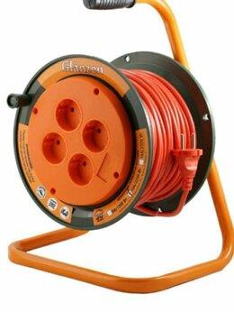 Кабели и провода - Удлинитель на катушке 30м (16а.2.2 квт.новый), 0