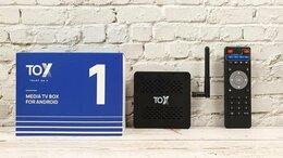 ТВ-приставки и медиаплееры - TV Box 4K (смарт android приставка+подготовка), 0
