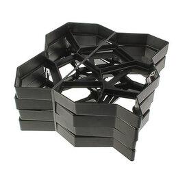 Строительство - Форма для садовой дорожки 50 х 50 см, черный, 0