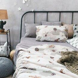 Постельное белье - Белье постельное детское 1,5 спальное, бязь, 0