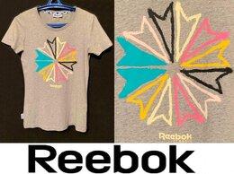 Футболки и топы - Футболка женская брендовая Reebok Classic (Новая), 0