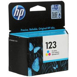 Картриджи - Картридж ориг. HP F6V16AE (№123) цветной для HP…, 0