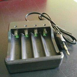 Зарядные устройства и адаптеры питания - Зарядное устройство для 4-х аккумуляторов 18650, 0