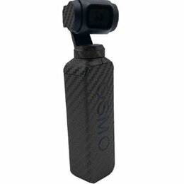 Интерьерные наклейки - Наклейка карбон на DJI OSMO Pocket (черный), 0