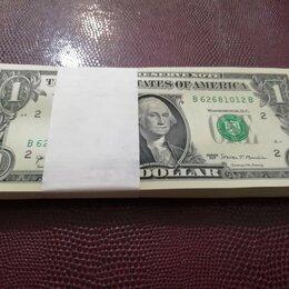 Банкноты - Один доллар 2017г США, 0