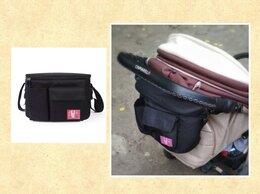 Аксессуары для колясок и автокресел - Новая сумка #5 для мамы на коляску (черная с…, 0