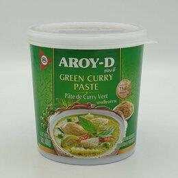 Продукты - Паста Карри Зелёная Aroy-D, 400 гр, 0