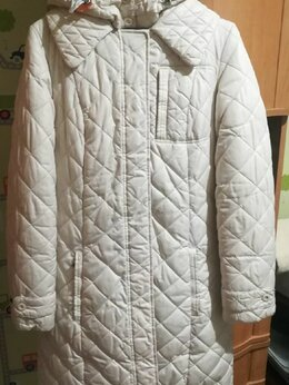 Пуховики - Светлое зимнее пальто Baon на пуху р.44. , 0