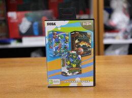 Игры для приставок и ПК - Картридж Sega A-304 3в1 (Марио World 64, World), 0