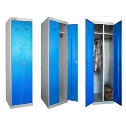 Мебель для учреждений - Металлический шкаф для одежды сборный ШРЭК-22-530, 0
