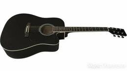 Акустические и классические гитары - Caraya F601-BK, 0