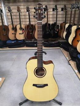 Акустические и классические гитары - Электро-акустическая гитара crafter HD-250CE, 0