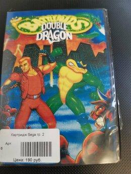 Игры для приставок и ПК - Картридж Sega Боевые жабы Двойной дракон, 0