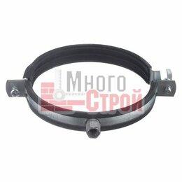 Аксессуары, запчасти и оснастка для пневмоинструмента - Хомут для воздуховода 300 мм  с уплотнением гайка М8, 0