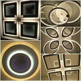 Люстры и потолочные светильники - Люстры светодиодные, 0